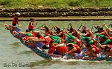 The Dragon Boat Festival is also known as the Duanwu Festival in China. It is celebrated on the fifth day of the fifth month on the Chinese lunar calendar.